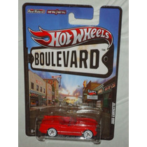 Hot Wheels Boulevard 1955 Corvette Llantas De Goma
