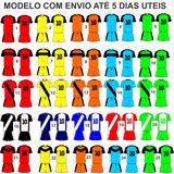 Uniforme Futebol Futsal Salão Quadra 6 Cnj Futebol Dry Sport