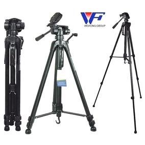 Trípode 1.65mts Soporta 3kg P/canon Nikon, Incluye Funda