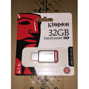 Pendrive 32gb Kingston Original Metal Usb 3.1/3.0/2.0