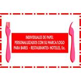 Mantelitos De Papel Para Bares, Restaurante, Hoteles, Etc.