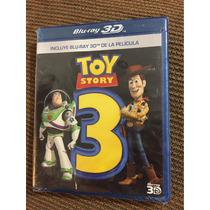 Toy Story 3 Bluray 3d Disney Pixar Woody Nuevo