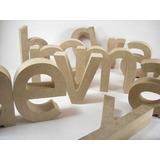Letras, Nombres,en Madera Y Mdf, De 5cm De Precio Por Letra