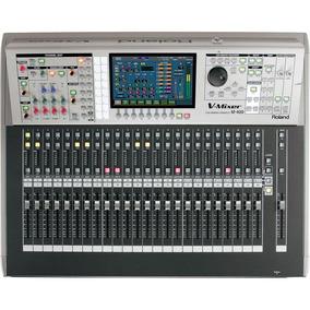 Mesa De Som Digital Roland 48 Canais V-mixer M-400