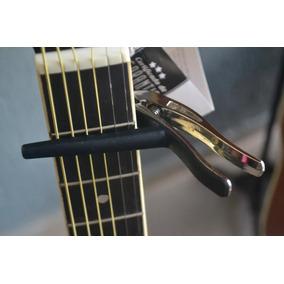 Capotraste Para Violão / Guitarra N.zaganin -novo