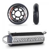Pack De 8 Ruedas Rollerblade 76/80a Sg 5 Para Patín Roller