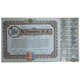 Accion Fabrica De Carton Y Cajas La Constancia (id: 568)