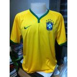 Camisa Seleção Brasileira 2014 Nike #10 Neymar - Original