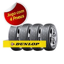 Kit Pneu Aro 16 Dunlop 205/55r16 Splm704 91v 4 Unidades