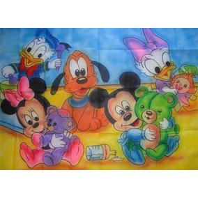 Painel De Festa Infantil 1,40x1,00m - Baby Disney 2