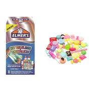 Kit Elmers Slime Metalico + 10 Charms Candy Novedad Belgrano