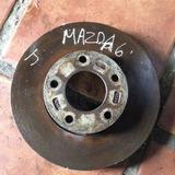 Disco De Freno Delantero De Mazda 3 Original Sin Rectificar