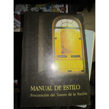 Manual De Estilo - Procuracion Del Tesoro De La Nacion