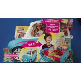 Carro Barbie Trailer De Filhotinhos Pets - Mattel