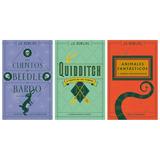 Paq. Animales Fantásticos + Quidditch + Cuentos De Beedle