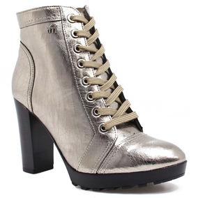 Bota Coturno Via Marte Ankle Boot (nota Fiscal) | Zariff