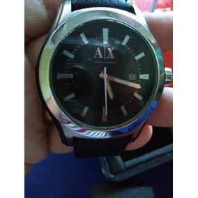 e0620fdc8e5 Pulseira Couro Relogio Armani Exchange Masculino - Relógios De Pulso ...