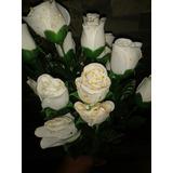 Flores Artificiales Blancas
