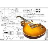 Plan Of Gibson Les Paul '59 Guitarra Eléctrica - Full