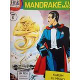 Lote Comics Mandrake El Mago 1960 Edar No Editorial Prensa