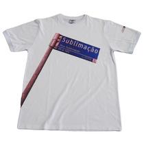 10 Camisetas 100% Poliester Lisa Para Sublimação Branca