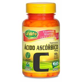 Vitamina C - Unilife 100% Puro - 60 Cápsulas