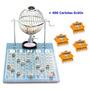 Bingo Nº1 Pequeno Completo 75 Bolas + 400 Cartelas Grátis Iz