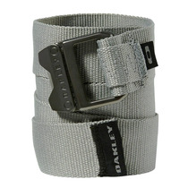 Cinto Oakley Square Web Belt Cinza