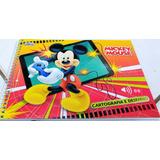 Caderno De Personagem Para Desenho