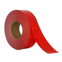 Cinta Reflejante Barricada 3m Rojo 2 Pulg 983-72