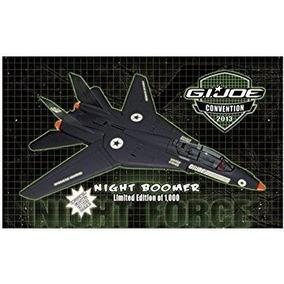 Gi Joe Night Boomer Joecon 2013 Exclusivo Avião(raríssimo)