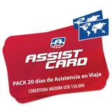 Pack 20 Días - Asistencia Médica Hasta 150.000 Usd
