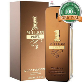Perfume 1 One Million Prive 100ml Original Paco Rabanne