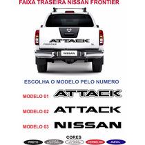 Acessorios Nissan Frontier Faixa Traseira Caçamba