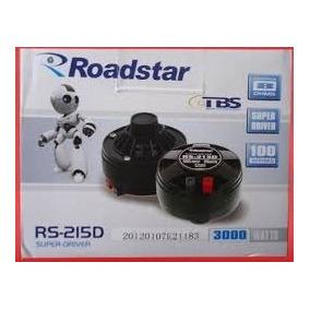 Super Driver Roadstar Rs-215d - Novo - Aproveitem
