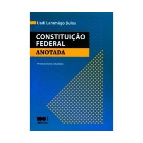 Constituicao Federal Anotada - Saraiva - 11 Ed