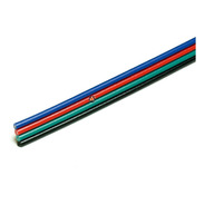 Cable Rgb 4 Hilos 1 Metro Awg 22 Para Tira Led 3528 5050 @tl