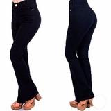 Pantalón Oxford Gabardina No Es Elastizado Azúl Oscuro Mujer