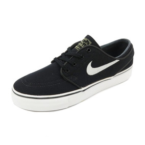 Tênis Nike Zoom Stefan Janoski Canvas Black/white