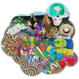 Combo Hora Loca Para Fiestas 100 Piezas De Calidad Sombreros