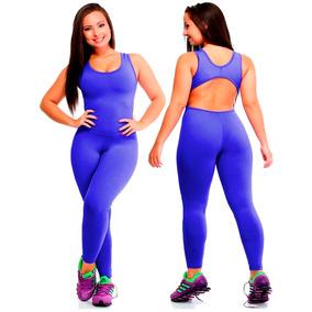 Macacão Longo Feminino Suplex Fitness Academia Frete Grátis
