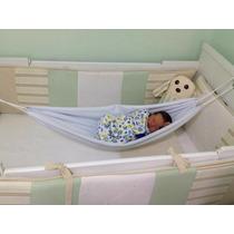 Rede Para Berço - Bebe Recem Nascido Dormir - Frete Grátis