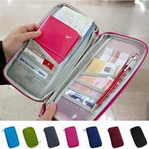Estuche Para Documentos De Viaje (pasaporte, Boletos, Etc)