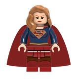 Prima De Superman Figura De Super Girl Compatible Lego