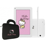 Tablet Dl Hello Kitty Branco Tela 7 Wi-fi Bolsa De Brinde