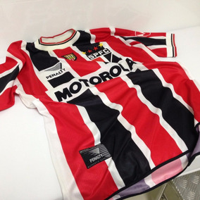 Camisa Oficial São Paulo Penalty Campeão 2000 Raro