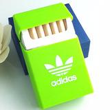 Porta Carteira Cigarros Silicone Verde, Azul Ou Preta