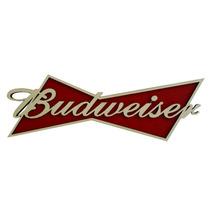 Placa Decorativa Budweiser Alto Relevo