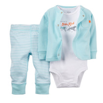 Carters Conjunto 3 Piezas Body Pantalon Cardigan Import.usa