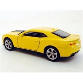 Chevrolet Camaro Zl1 Amarelo 1:39 Welly